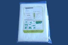 Abdeckplane weiß wasserdicht,  gewebeverstärkt