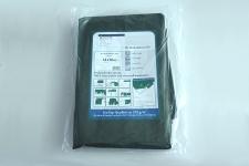 Abdeckplane grün wasserdicht,  gewebeverstärkt