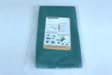 PVC Abdeckplane grün,  blau wasserdicht,  gewebeverstärkt