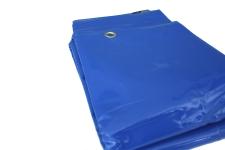 PVC Abdeckplane blau