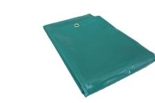 PVC Abdeckplane grün